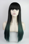 Long straight Cosplay Christmas Halloween Party Wig