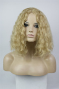 Short Curly Wavy Halloween Party Cosplay Wig