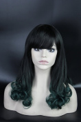 Long Curly Wavy Halloween Party Cosplay Christmas Wig