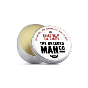 Beard Balm Oak Barrel 30g Relieves dry, itchy skin, controls frizz and tangles, prevents split ends, reduces patchiness, adds volume, easy to use.