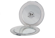 Pocket Mirror Cosmetic Lucia Beauty - Round - Single and Triple Magnification