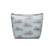 Landscape Makeup Bag Cosmetic Case Vintage Style