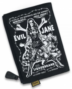 Liquor Brand-Rockabilly Zipper Cosmetic Bag-Evil Jane