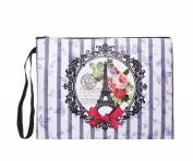 Ladies Paris Make Up Cosmetic Wash Bag Pencil Case