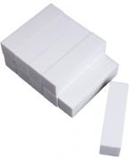 KingWinX Fashion Nail Sanding Blocks, Pack of 5 pcs White