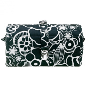 Reisenthel WRAPCOSMETIC Toiletry Bag with black fleur WB7013