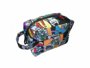 DC Comics The Joker Wash Bag Make-Up Bag-Comic Stripes