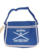 WEAPONS OF MASS PERCUSSION- Drummer's Cool Graphic -Retro Messenger Men's Shoulder Bag