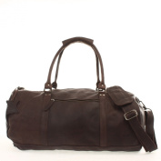 Leconi holdall travel bag cow leather vintage LE2004