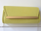 Yellow Clutch Bag, Evening Bag, Ladies Shoulder Bag, Prom Wedding