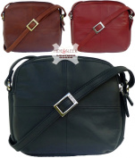 Ladies Visconti Leather Small Shoulder Bag