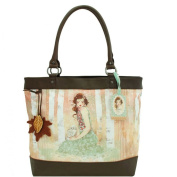 Handbag - Mademoiselle Snow, Santoro's Willow