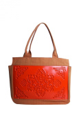 FELISSYA ORANGE AND RED CITY BAG