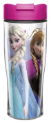 Zak! Designs Insulated Travel Mug with Anna and Elsa from Frozen, 440ml
