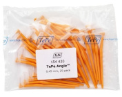 TePe Interdental Brush Angle - Orange 0.45mm 25 Pack by TePe Munhygienprodukter AB, Sweden