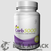90 x CARB BLOCKER - 5000mg - White Kidney Bean Extract - Carbohydrate Blocker