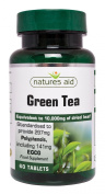 natures aid 10000 mg Green Tea Tablets - Pack of 60 Tablets