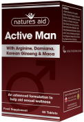natures aid Active Man Tablets - Pack of 60 Tablets