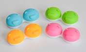 3 x Bear Range Fun Cute Animal Contact Lens Storage / Soaking Case Free PP