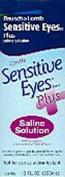 Bausch & Lomb Sensitive Eyes Plus Saline Solution 355 ml
