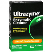 Amo Ultrazyme Enzymatic Cleaner, Tablets - 20 Ea