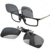 Ewin24 Polarised Sunglass Clip On Flip Up Sunglasses Clip Fashion Sunglass Holder