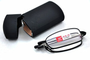 MT151B High Quailty Telescopic Alloy Folding Reading Glasses with 8 Lens Variations from +1.0 up to +2.75