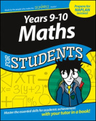 Years 9-10 Maths for Students Dummies Education   Series
