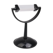 Physics Optical Glass Prism with Plastic Stand Teaching Educational Tool