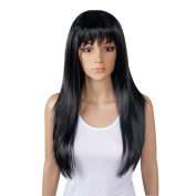 Ladies SEXY 60cm Long Fancy Dress Full Wigs Straight Cosplay Costume Party Wig