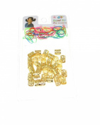 Zac's Alter Ego® Hair Cuffs & Elastics for Braiding & Dreadlocks