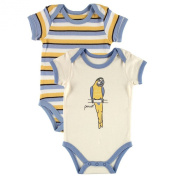 Touched By Nature Organic Cotton 2 Pack Baby Bodysuit Vests