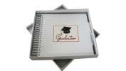White Cotton Cards Graduation Cap Card and Memories Book