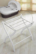 Izziwotnot White Moses Basket Stand
