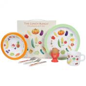 7 Piece Children's Melamine Gift Set - LUNCH BUNCH