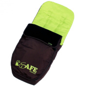 Genuine iSafe Visual 3 Universal Deluxe 2 In 1 Footmuff Cosytoes Liner - Chocolate And Lime