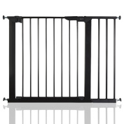 BabyDan Premier True Pressure Fit Baby Safety Stair Gate Black All Widths