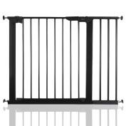 BabyDan Premier True Pressure Fit Baby Safety Stair Gate Black All Widths
