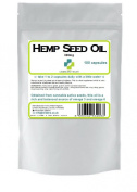 Hemp Seed Oil 300mg / 100 Capsules