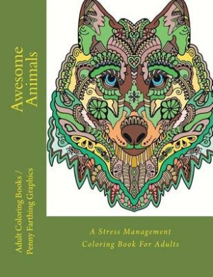 Awesome Animals by Adult Coloring Books PDF Download