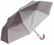 Fulton Chelsea Umbrella City Stripe Grey