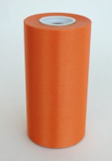 15cm Wide Orange Ceremonial Ribbon for Grand Openings/Re-Openings and Ribbon Cutting Ceremonies - 25 Yard Roll