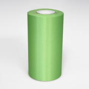 15cm Wide Hot Lime Ceremonial Ribbon for Grand Openings/Re-Openings and Ribbon Cutting Ceremonies - 25 Yard Roll