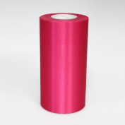 15cm Wide Hot Raspberry Ceremonial Ribbon for Grand Openings/Re-Openings and Ribbon Cutting Ceremonies - 25 Yard Roll
