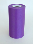 15cm Wide Purple Ceremonial Ribbon for Grand Openings/Re-Openings and Ribbon Cutting Ceremonies - 25 Yard Roll