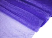 140cm x 40 yards Sheer Organza Fabric Put Up Bolt - Purple