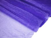 140cm x 40 yards Sheer Organza Fabric Put Up Bolt - Purple