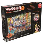"""Jumbo """"Wasgij Back To 1 Back to Basics"""" Jigsaw Puzzle"""