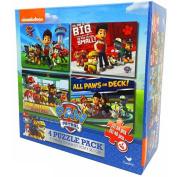 Paw Patrol 4 Pack Puzzle Box