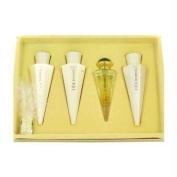 JIVAGO 24K by Ilana Jivago Gift Set -- 50ml Eau De Parfum Spray + 120ml Body Lotion + 120ml Body Cream + 120ml Shower Gel For Women